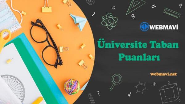 İstiklal Üniversitesi 2 Yıllık Taban Puanları ve Başarı Sıralaması