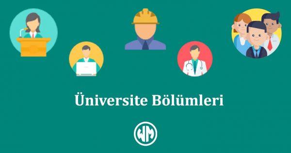 2020 Üniversite Dil Bölümleri