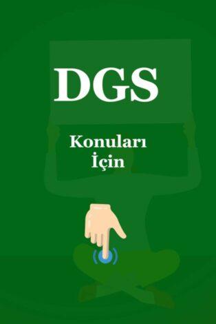 DGS Konuları