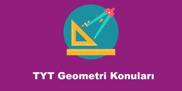 TYT Geometri Konuları ve Soru Dağılımları – YKS