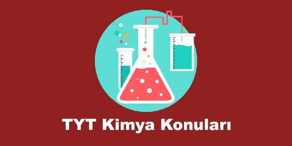 TYT Kimya Konuları ve Soru Dağılımları – YKS