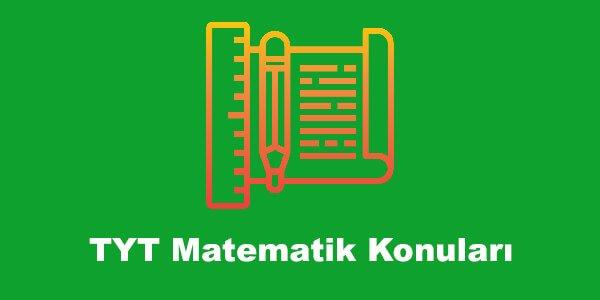 TYT Matematik Konuları ve Soru Dağılımları – YKS